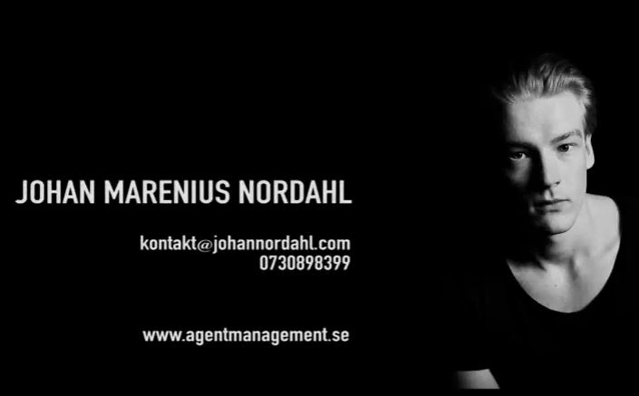 Johan Marenius Nordahl Showreel 2017